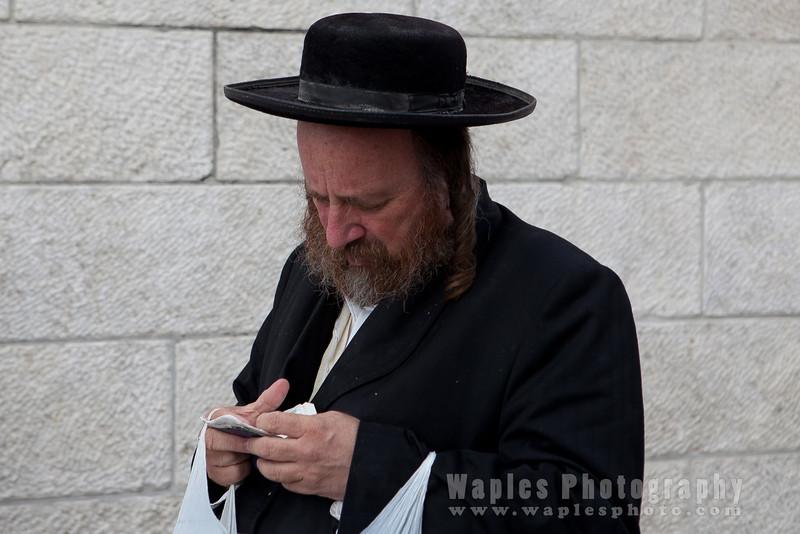 Orthodox Jew with Payot (sidelocks)
