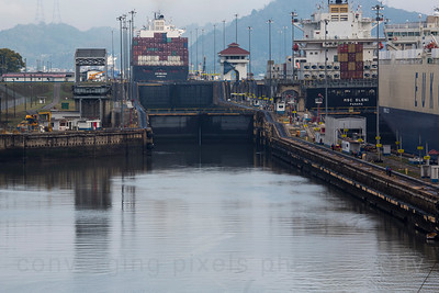 The Miraflores Locks.