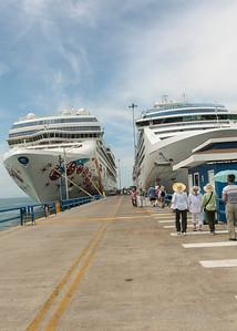 A favorite docking place in Puntarenas