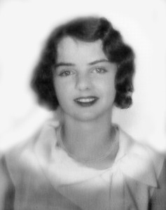 After visiting Rita and Dave in Henderson, NV, on to Wally's place in Palm Desert. Found a couple of intriguiging old photos there. This one is of Beth's mother, Mary McCarron, at age 18.