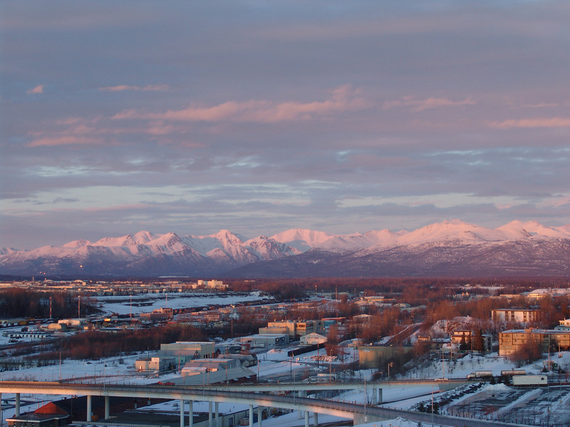 Anchorage from my hotel room