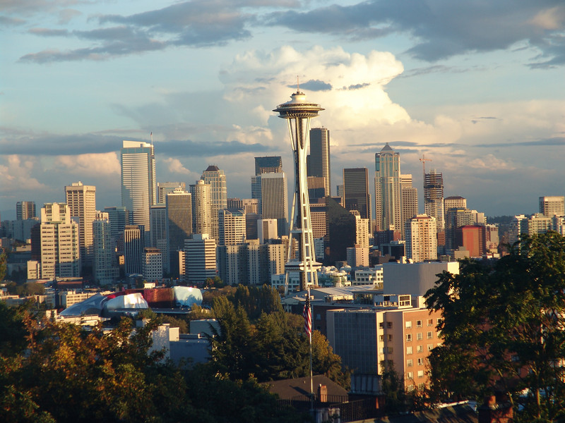 Downtown Seattle from Kerry Park