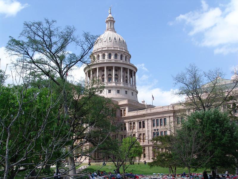 State Capitol:  Austin, TX