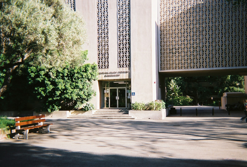 """The Firestone building is labeled as Flight Sciences but houses <a href=""""http://www.acm.caltech.edu/"""">the applied mathematics department</a> as well."""