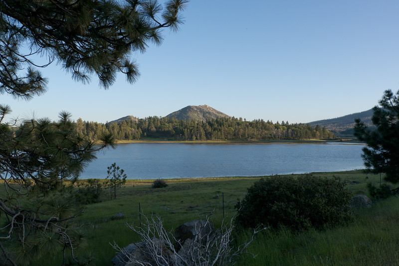Lake Cuyamaca with Stonewall peak in the distance - shot @ ISO 320, f/8.0, 1/250 sec, on Panasonic DMC-GH2 w/ LUMIX G VARIO 14-140/F4-5.8 lens at 14 mm