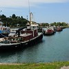 North of Port Huron/Sarnia, is Goderich..a popular Stop/overnight for vacationers.