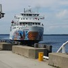 Here comes the Che-Cheemaun from South Baymouth..1 hour and 40 minute boat ride to Manitoulin Island.