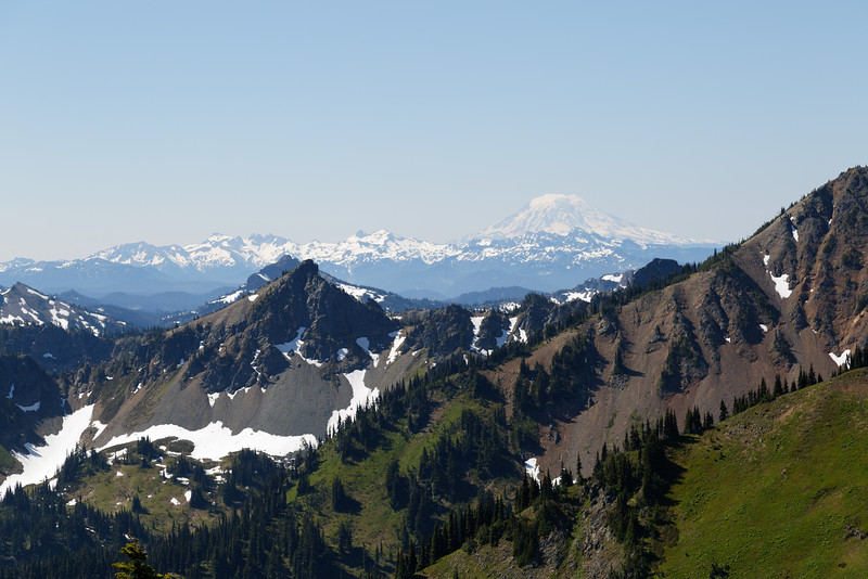 Mt Adams from Crystal Mountain