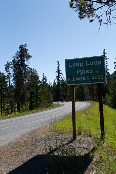 Loup Loup Pass
