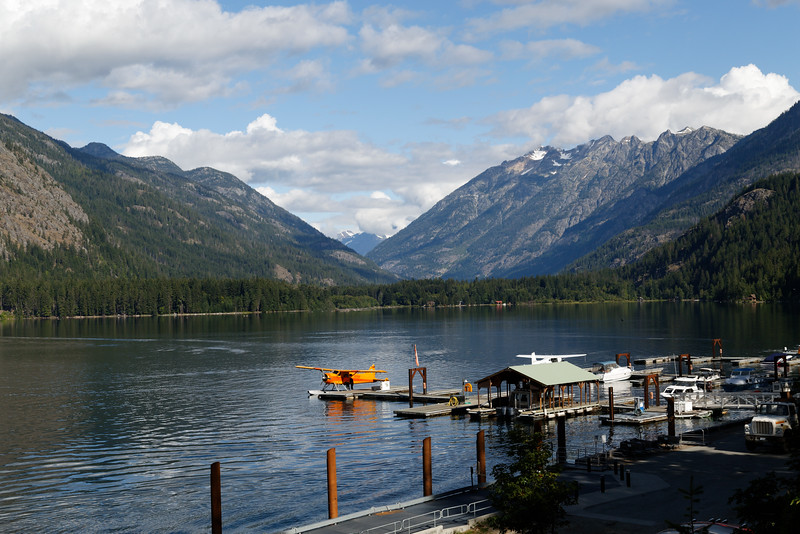 Looking Northwest from Stehekin