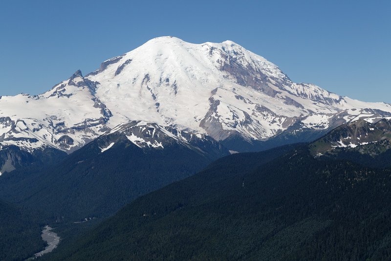Mt Rainier from Crystal Mountain