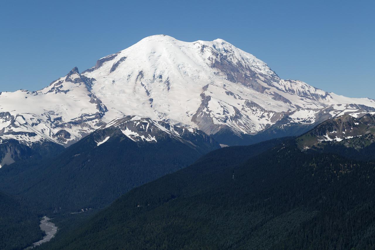 Mt Rainier from Crystal Mountain