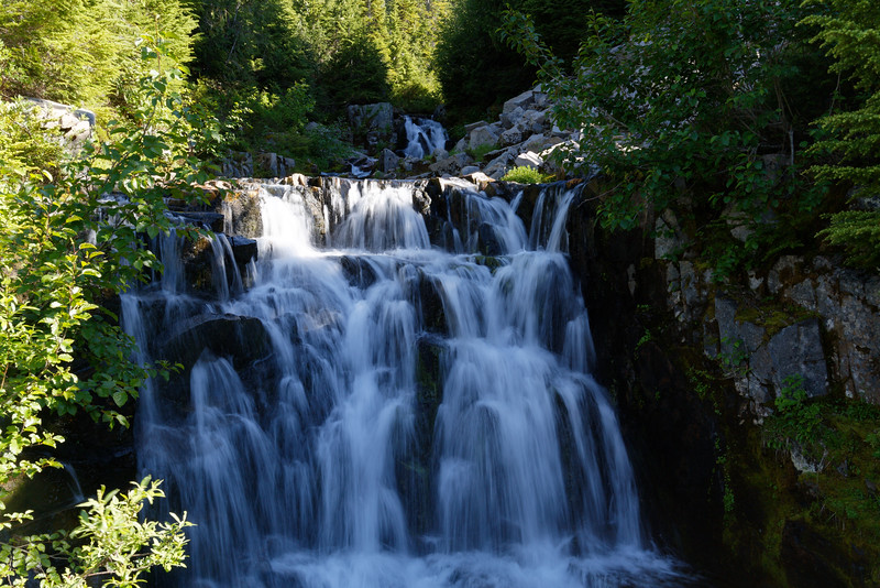 Waterfall, Mt Rainier