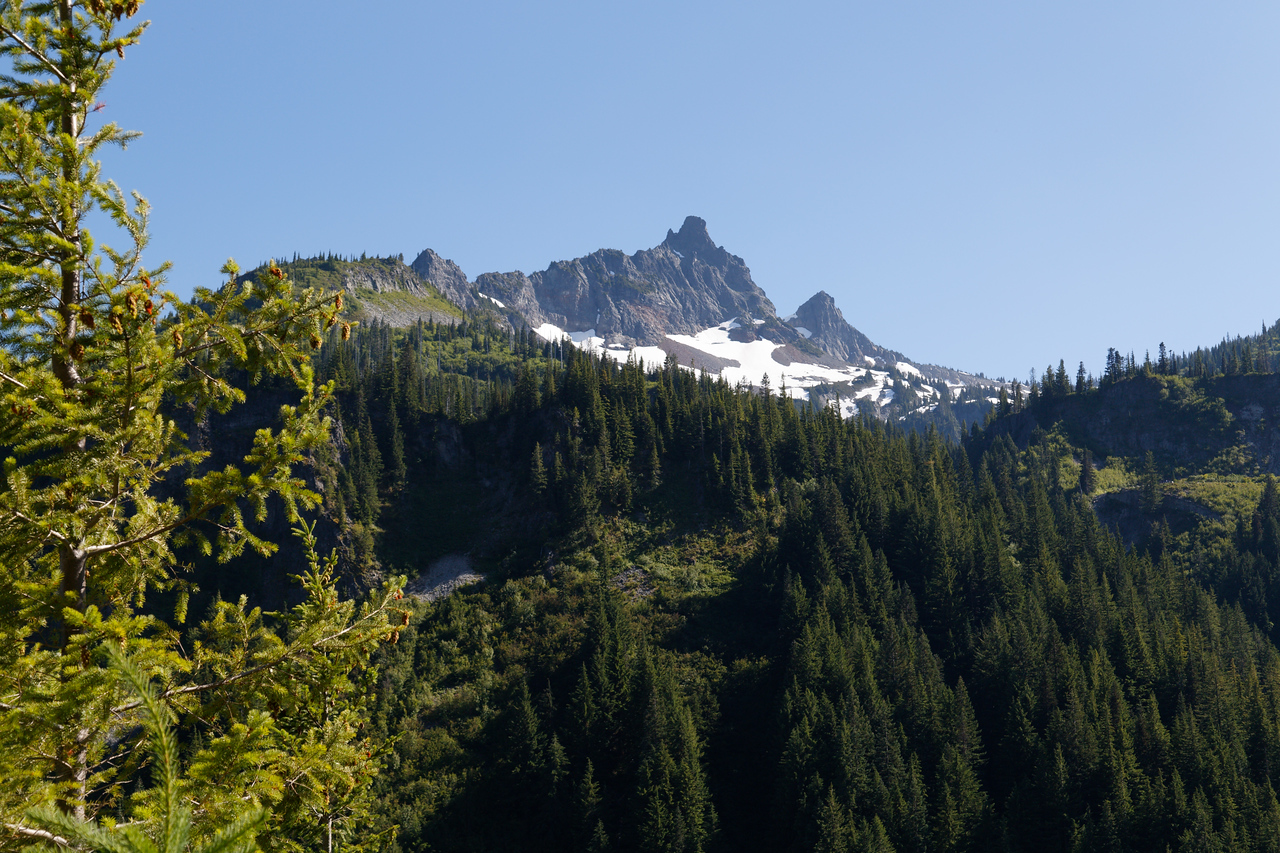 Peak on Mt Rainier