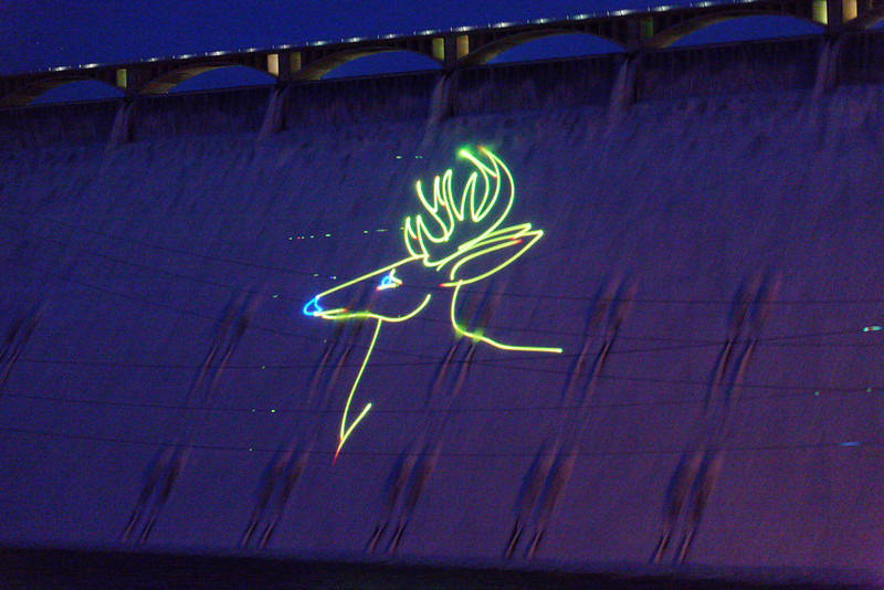 Grand Coulee Laser show