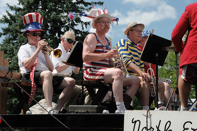 The annual Fourth of July parade in Evanston, Illinois, 2010 edition.