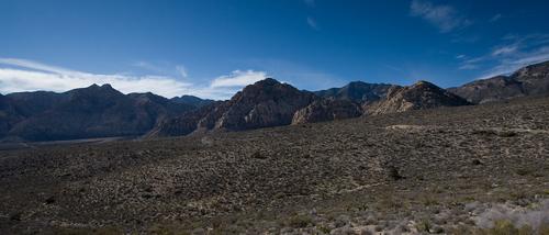 Circling Red Rock Canyon
