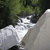 Yule Creek and marble blocks