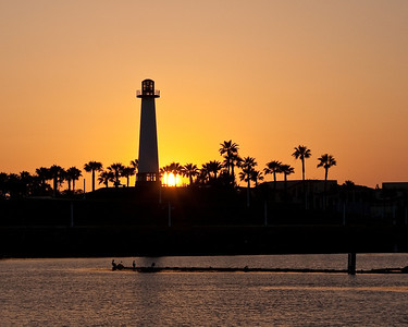 6771 Lighthouse Sunset