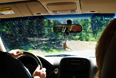 If you drive near Klamath Falls in the summer, be prepared to hit some bugs.
