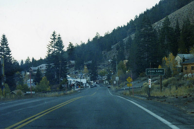 10/23/02 June Lake Loop (Hwy 158). Mono County, CA