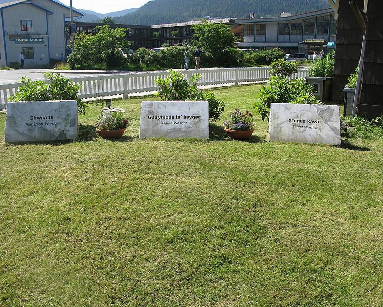 Tsimshian, Haida, Tlingit veterans memorial