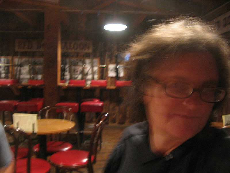 Alison at the Red Dog Saloon