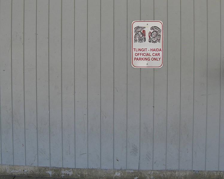 Tlingit, Haida parking