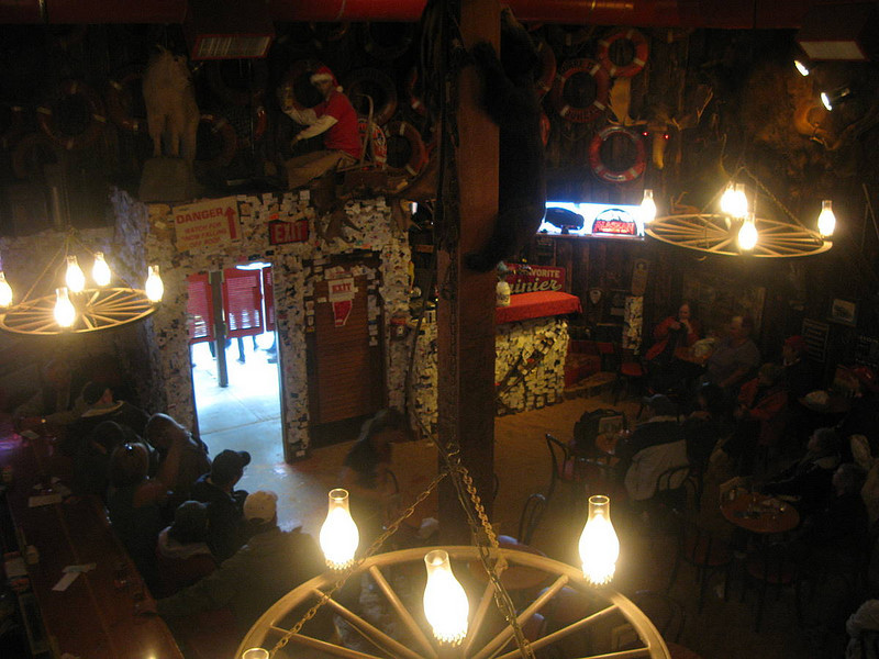 Red Dog Saloon, self-described tourist trap