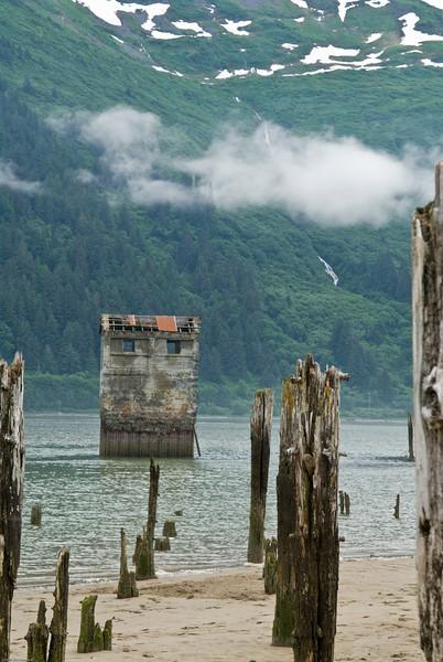 Tillman mine water intake, Juneau, AK.