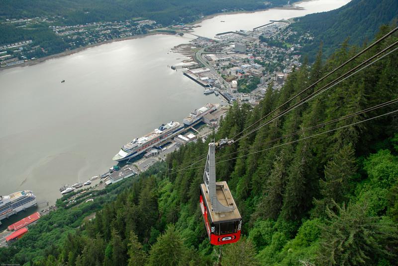 Tram view of tram, Juneau, AK