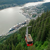 Tram view of tram, Juneau, AK