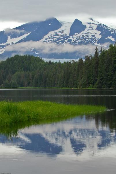 Mendenhall glacier pond, Juneau AK.