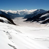 Aletsch Glacier with Konkordiaplatz