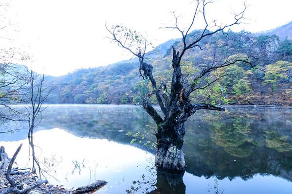 Jusangji Pond, Juwangsan National Park