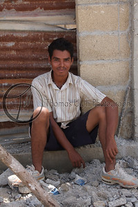 A construction worker in Santa Elena, Guatemala. He was quite amused that I was taking his photo. Which was a pretty common response!