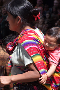 Baby on board! Chichicastenango, Guatemala