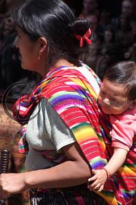 Baby on board! Chichicastenango, Guatemala