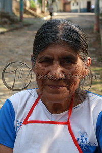 We met this lady and her friends while we were walking around town. She was very gracious with me. Talnique, EL Salvador