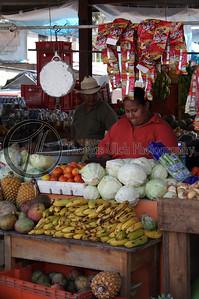 A fruit stand in San Ignacio, Belize.