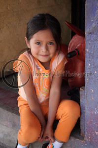 I wanted to put her in my backpack and take her home with me. She is so cute! Ataco, El Salvador.