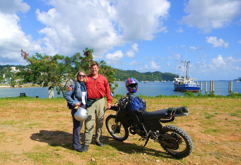 More two-up adventure, Samana Bay