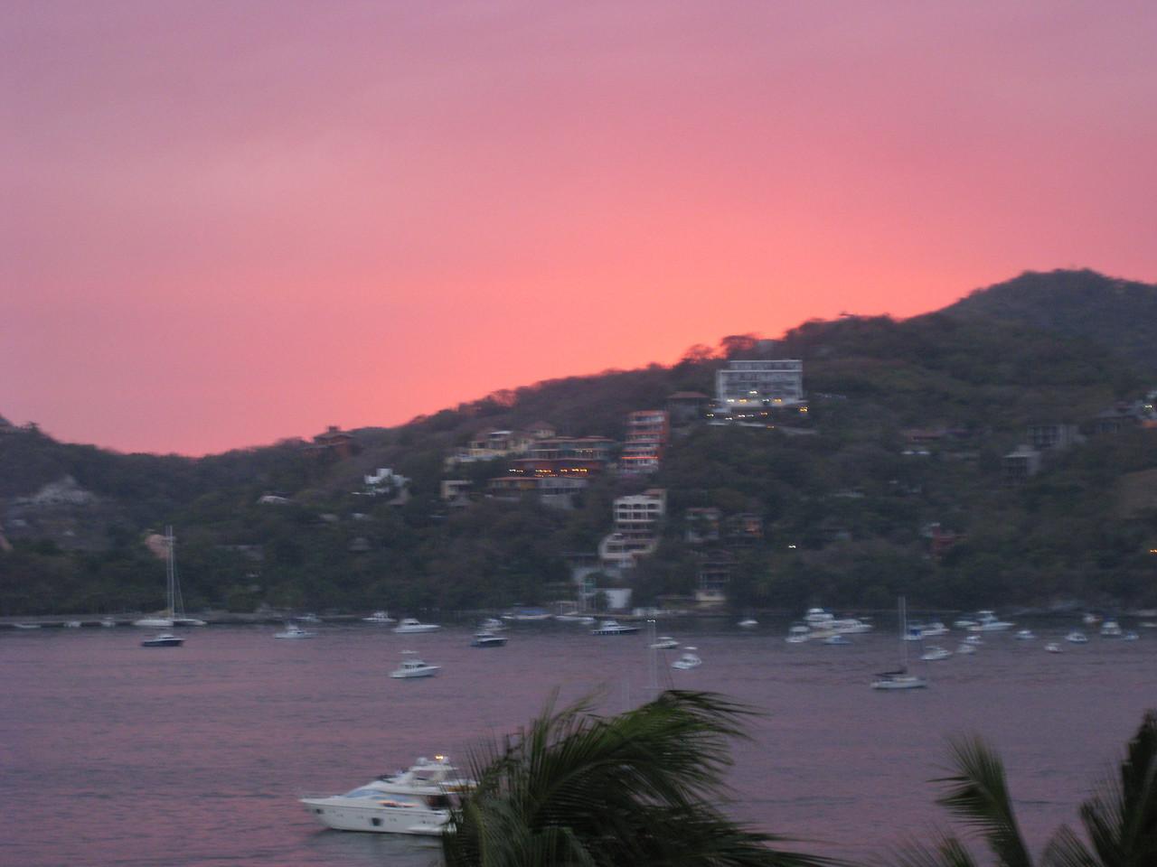 First sunset