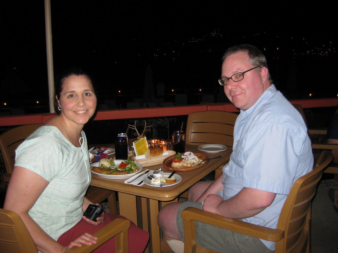 Dinner at Hotel Irma