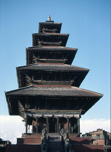 The Nyatapola Pagoda, Bhaktapur