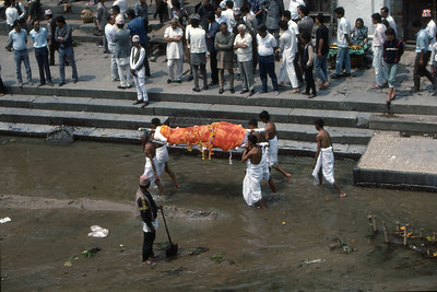 Pashupatinath funeral party