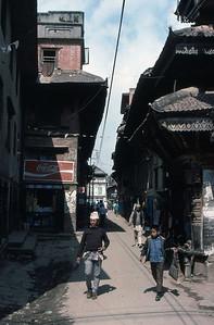 Kathmandu backstreet