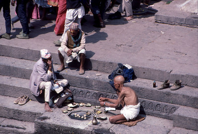 Pashupatinath funeral offerings