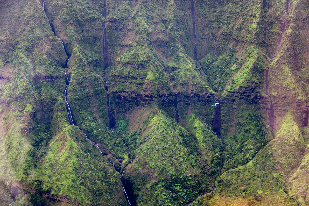 """MT. WAIALEALE CRATER - """"THE WETTEST SPOT ON EARTH."""""""