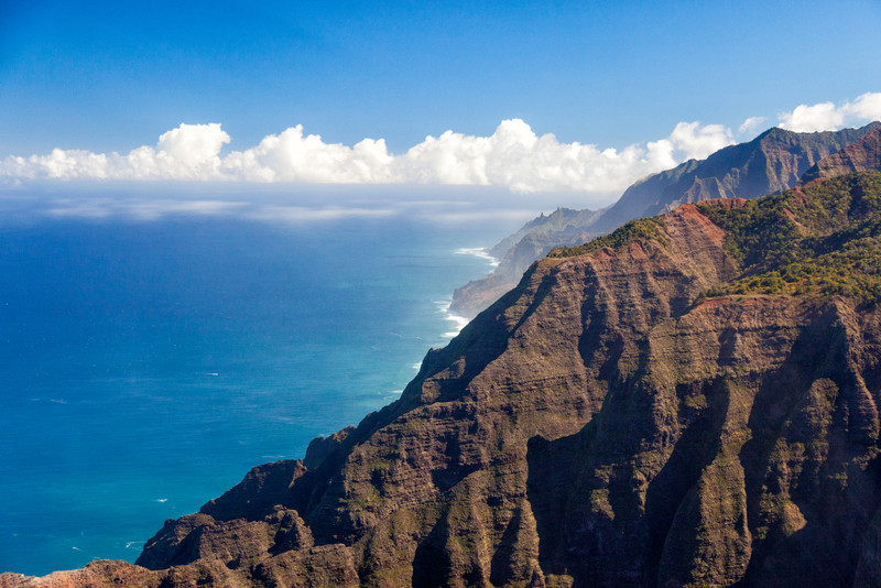 APPROACH TO THE NAPALI COAST